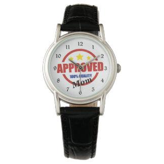 質の公認のお母さん 腕時計