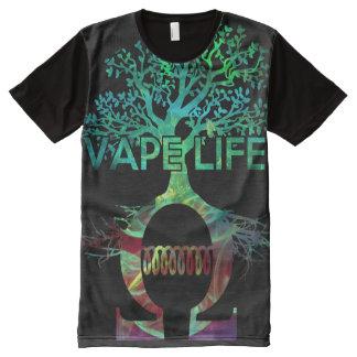 質の完全なプリントのVapeの生命ワイシャツ オールオーバープリントT シャツ