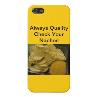 質の常に点検あなたのNachos iPhone 5 カバー