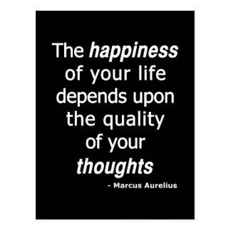 質の思考か。 それから幸せな生命… ポストカード