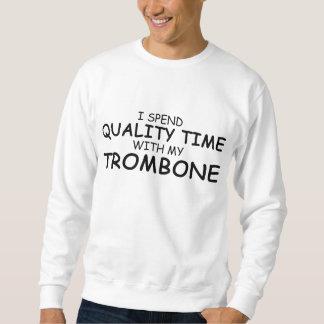 質の時間トロンボーン スウェットシャツ