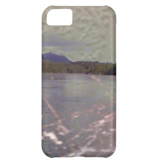 質の湖の写真 iPhone5Cケース