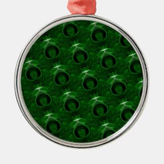質の緑のマラカイト メタルオーナメント