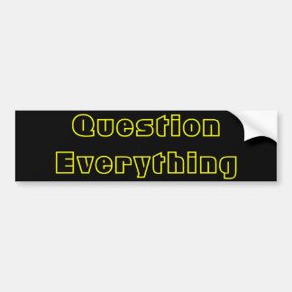 質問すべて バンパーステッカー