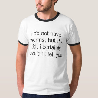 質問を上げて下さい Tシャツ
