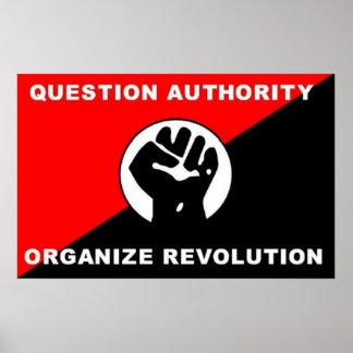 質問権限は改革ポスターを組織します ポスター