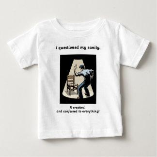 質問正気 ベビーTシャツ