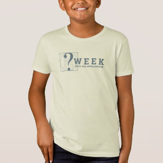質問週: 決して質問をすることを止めないで下さい! Tシャツ