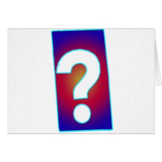 質問 カード