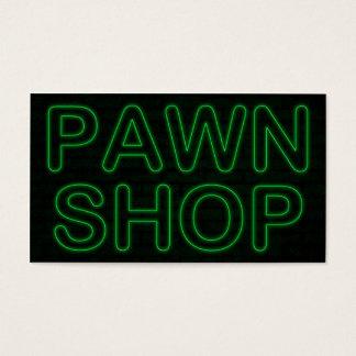 質屋: 電気緑の印 名刺