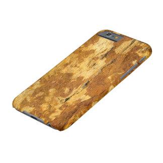 質木製の錆ついたIPHONE 6Sの懸命の箱を囲んで下さい BARELY THERE iPhone 6 ケース