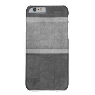 質-カジュアルな灰色 BARELY THERE iPhone 6 ケース