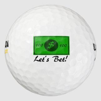 賭けよう ゴルフボール