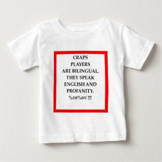 賭けること ベビーTシャツ