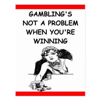賭けること ポストカード