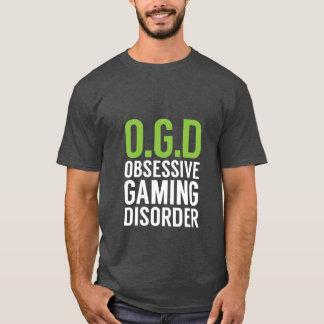 賭博のギークのためのおもしろいなゲーマーのTシャツ Tシャツ