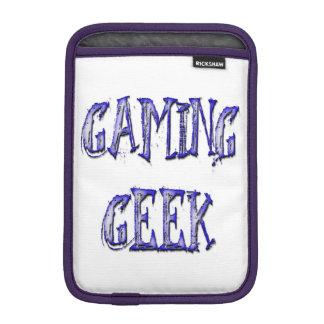 賭博のギークの青 iPad MINIスリーブ