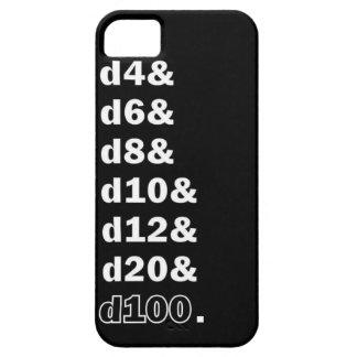 賭博のサイコロd20 iPhone SE/5/5s ケース