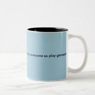 賭博のマグ ツートーンマグカップ