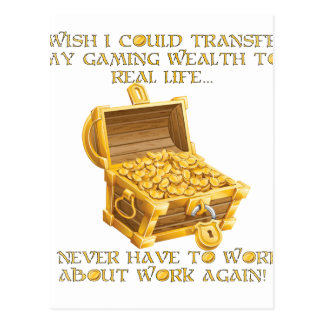 賭博の富 ポストカード