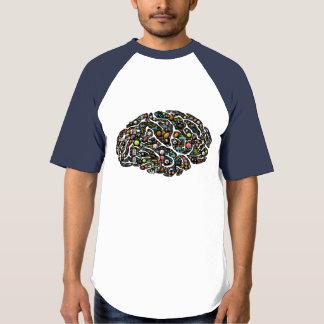 賭博の心の固定観念のemoji芸術のTシャツ Tシャツ