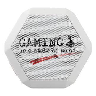 賭博の白いカスタムなBoombotのレックス ホワイトBluetoothスピーカー