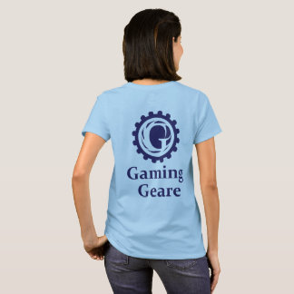 賭博のGeareのロゴのワイシャツ Tシャツ