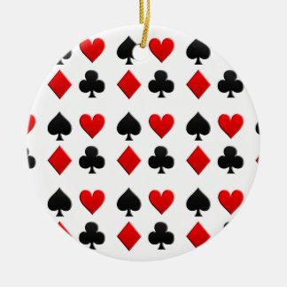 賭博はスーツを梳きます セラミックオーナメント