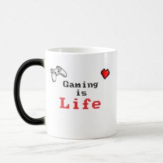 賭博は生命マグです モーフィングマグカップ