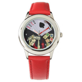 賭博カジノの賭博の部分 腕時計