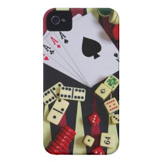 賭博カジノの賭博の部分 Case-Mate iPhone 4 ケース