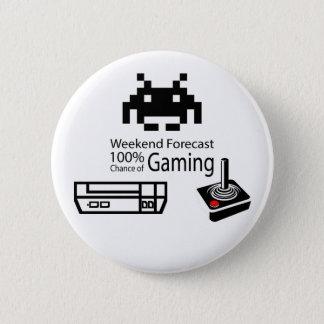 賭博ボタンの100%のチャンス 5.7CM 丸型バッジ