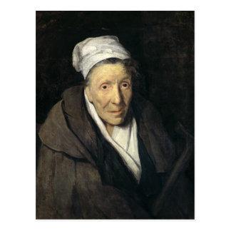 賭博マニア1819-24年の女性 ポストカード