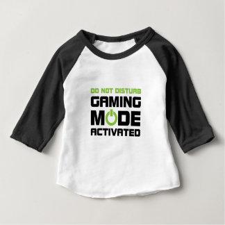 賭博モード ベビーTシャツ