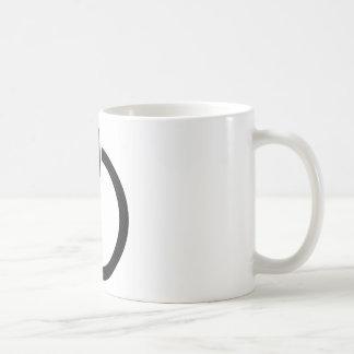 賭博力ボタン コーヒーマグカップ