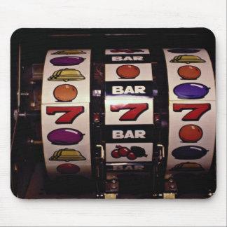 賭博、スロットマシン マウスパッド