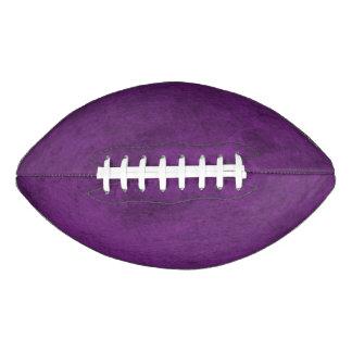 贅沢でエレガントでクラシックな紫色 アメリカンフットボール