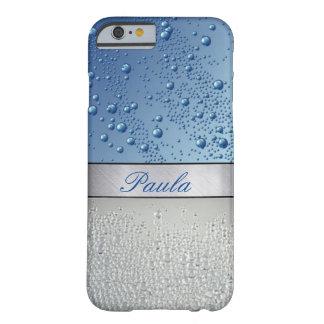 贅沢で名前入りな銀製の輝きのiPhoneの場合 Barely There iPhone 6 ケース