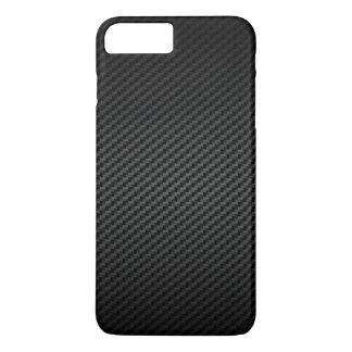 贅沢で強いカーボン繊維の質パターン iPhone 7 PLUSケース
