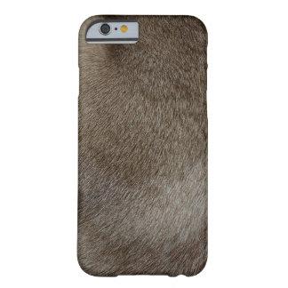 贅沢なシールポイントシャム猫の毛皮の一見 BARELY THERE iPhone 6 ケース