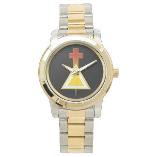 贅沢な金夜明けの腕時計 腕時計