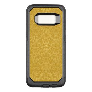 贅沢な金花模様の壁紙 オッターボックスコミューターSamsung GALAXY S8 ケース