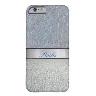 贅沢な銀製の輝きのiPhone6ケース Barely There iPhone 6 ケース