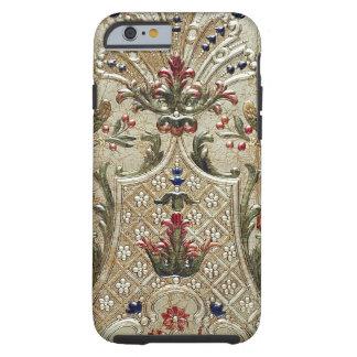 贅沢な革によって金めっきされるプリントのVibeのiPhone6ケース ケース