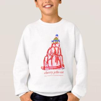 贅沢なfernandesのさくらんぼのjello スウェットシャツ