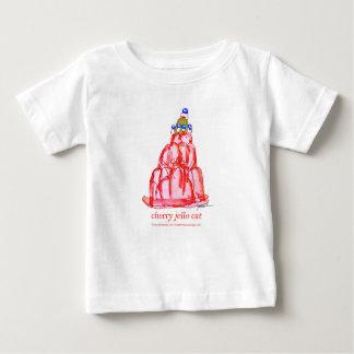 贅沢なfernandesのさくらんぼのjello ベビーTシャツ