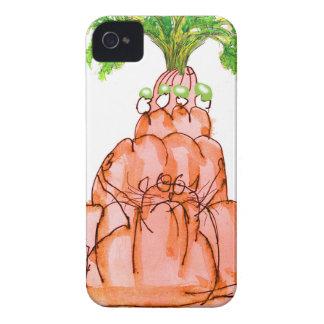 贅沢なfernandesのにんじんのjello猫 Case-Mate iPhone 4 ケース