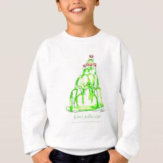 贅沢なfernandesのキーウィのjello スウェットシャツ