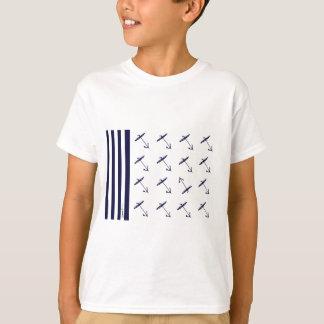 贅沢なfernandesの旗のいかり2b tシャツ