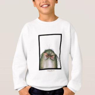 贅沢なfernandesの気難しい虎猫猫のスナップ スウェットシャツ
